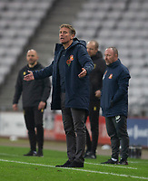Football - 2020 / 2021 FA Cup - Round One - Sunderland vs Mansfield Town - Stadium of Light<br /> <br /> Sunderland manager Phil Parkinson  <br /> <br /> COLORSPORT/BRUCE WHITE