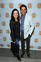 Nicole Bordges and Jon Huertas at Irish Screen America: Float Like a Butterfly & Local Short Film Showcase held at Ahrya Fine Arts by Laemmle on November 02, 2019 in Los Angeles, California, United States (Photo by © Jc Olivera/VipEventPhotography.com)
