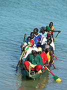 Women and Child - River Ferry - Senegal