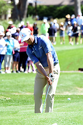 April 12, 2018 - Hilton Head Island, South Carolina, U.S. - HILTON HEAD ISLAND, SC - APRIL 12: Zach Johnson,  during the first round of the RBC Heritage on April 12, 2018 at Harbour Town Golf Links in Hilton Head Island, SC. (Photo by Theodore A. Wagner/Icon Sportswire) (Credit Image: © Theodore A. Wagner/Icon SMI via ZUMA Press)
