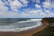 Steve Ryan Photography.Bells Beach situated on Victoria's Surfcoast ..Home of the Rip Curl Pro ,which is run during the Easter .Holiday break..