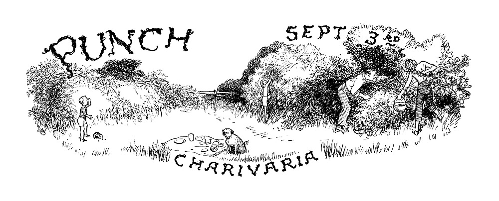 Punch Charivaria title heading (Sept 3rd)