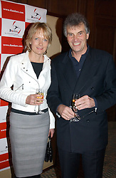 NIGEL & LINDA WRAY he owns Saracens Rugby Club at a dinner hosted by footballer Patrick Vieira and the Diambars UK Charital Trust at The Landmark Hotel, 222 Marylebone Road, London NW1 on 3rd February 2005.<br /><br />NON EXCLUSIVE - WORLD RIGHTS