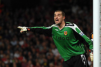 Boaz Myhill (Hull). Arsenal Vs Hull City. Barclays Premier League. Emirates Stadium. London. 27/09/2008. Credit Colorsport/Garry Bowden