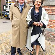NLD/Naarden/20180330 - Matthaus Passion in de grote kerk van Naarden 2018, Gerdi Verbeet en partner Wim Meijer
