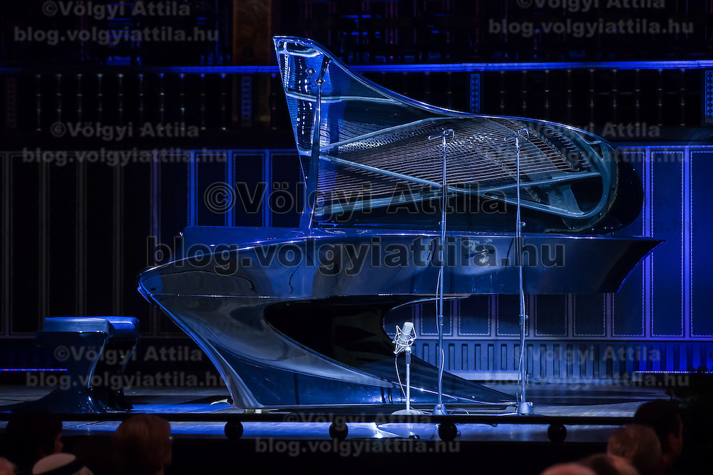 Newly introduced Boganyi piano presented during the Day of Hungarian Culture in Budapest, Hungary on January 21, 2015. ATTILA VOLGYI
