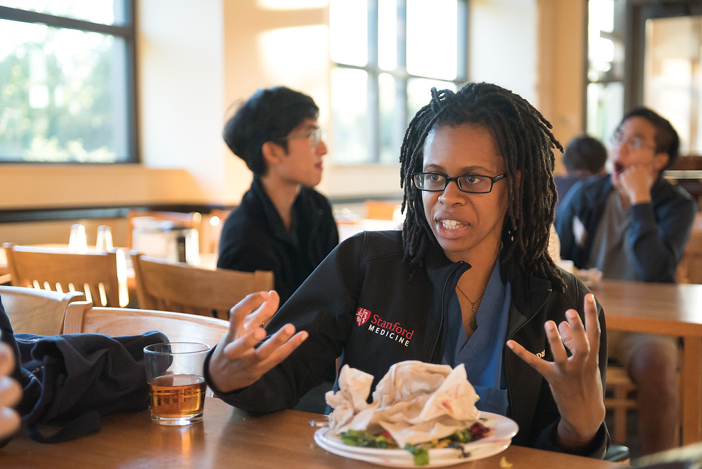 Stanford, Ca - Friday, June 9, 2017: Dining Hall
