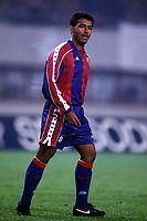Fotball<br /> Barcelona Historie<br /> Foto: imago/Digitalsport<br /> NORWAY ONLY<br /> <br /> 03.11.1993  <br /> Romario (Barca)