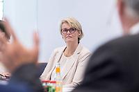 31 MAY 2018, HAMBURG/GERMANY:<br /> Anja Karliczek, CDU, Bundesministerin fuer Bildung und Forschung,, Besuch des Deutschen Elektronen-Synchrotons, DESY<br /> IMAGE: 20180531-01-044