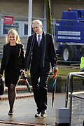 "WikiLeaks founder Julian Assange leaves with his lawyer Jennifer Robinson after his extradition hearing at Belmarsh Magistrates' Court in London February 11, 2011. A lawyer for Assange accused Sweden's prime minister on Friday of damaging his client's chances of a fair trial for alleged sex crimes by portraying him as ""public enemy number one""."