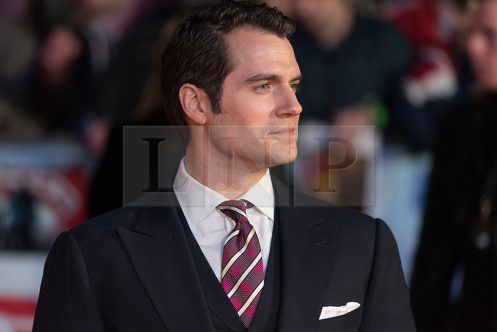 © Licensed to London News Pictures. 22/03/2016. HENRY CAVILL attends the Batman V Superman: Dawn of Justice European film premiere. The film is based on the DC Comics characters. London, UK. Photo credit: Ray Tang/LNP