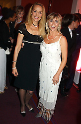 Left to right, JERRY HALL and LESLEY GARRETT at the English National Opera's 'On The Town' presented by SKY and Artsworld followed by a Tribute to Leonard Bernstein hosted by Jerry Hall at The London Coliseum, St.Martin's Lane, London WC2 on 11th May 2005.