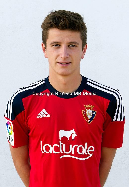 Spain - La Liga Adelante 2015-2016 / <br /> ( Club Atletico Osasuna ) - <br /> Miguel Olavide Montes