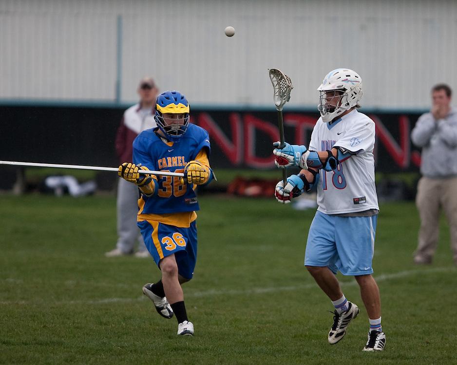 Saint Joseph's High School Lacrosse 2009.St. Joe vs. Carmel