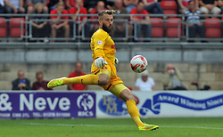 Leyton Orient's Adam Legzdins - photo mandatory by-line David Purday JMP- Tel: Mobile 07966 386802 09/08/14 - Leyton Orient v Chesterfield - SPORT - FOOTBALL - Sky Bet Leauge 1 - London -  Matchroom Stadium