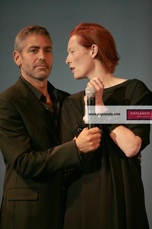 George Clooney - Tilda Swinton - - 33 ème Festival du film américain de Deauville - 2/09/2007 - JSB / PixPlanete