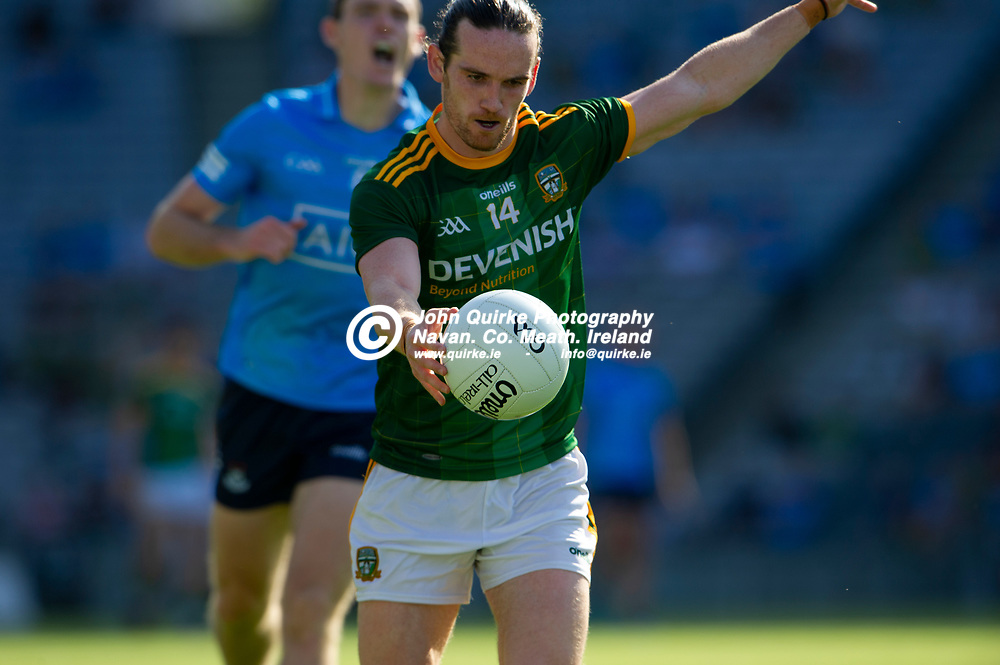 18-07-21. Meath v Dublin - Leinster Senior Football Championship Semi-Final at Croke Park.<br /> Cillian O'Sullivan, Meath in action against Dublin in the Leinster SFC Semi-Final.<br /> Photo: John Quirke / www.quirke.ie<br /> ©John Quirke Photography, 16 Proudstown Road, Navan. Co. Meath. (info@quirke.ie / 046-9028461 / 087-2579454).