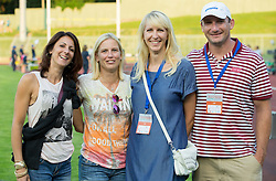 Alenka Bikar, Marina Tomic, Britta Bilac and Primoz Kozmus during 20th European Athletics Classic Meeting in Honour of Miners' Day in Velenje on July 1, 2015 in Stadium Velenje, Slovenia. Photo by Vid Ponikvar / Sportida