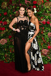 Lady Kitty Spencer (left) and Emma Thynn, Viscountess Weymouth attending the Evening Standard Theatre Awards 2018 at the Theatre Royal, Drury Lane in Covent Garden, London