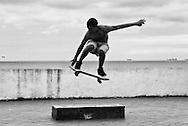 Skater at Las Bovedas - Casco Viejo