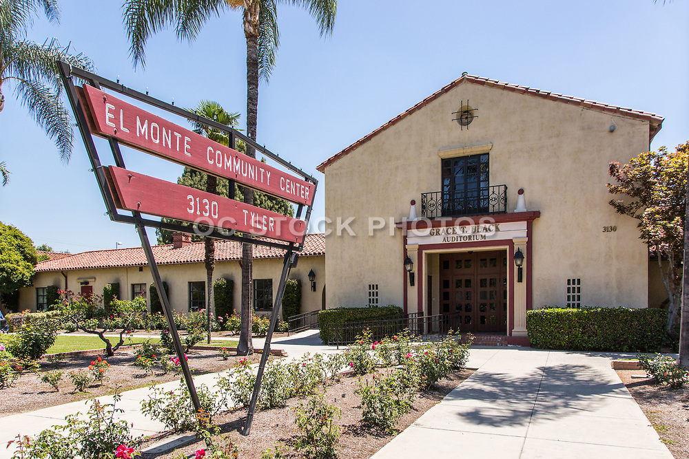 El Monte Community Center Grace T. Black Auditorium