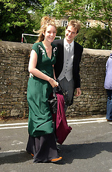 BEN & KATE GOLDSMITH at the wedding of Hugh van Cutsem to Rose Astor in Burford, Oxfordshire on 4th June 2005.<br /><br />NON EXCLUSIVE - WORLD RIGHTS