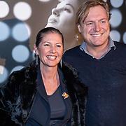 NLD/Amsterdam/20191113 - Filmpremiere Judy, Josefine van Asdonk en partner