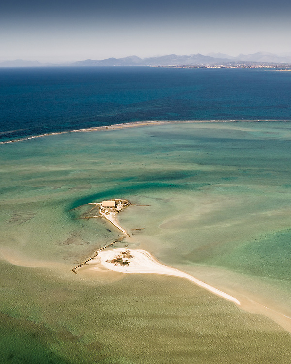 Island of Sicily (Agios Nikolaos) at Lefkas, Greece