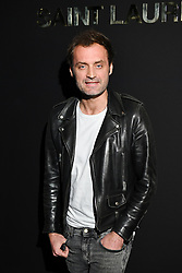 Augustin Trapenard attends the Saint Laurent show as part of the Paris Fashion Week Womenswear Fall/Winter 2019/2020 on February 26, 2019 in Paris, France. Photo by Laurent Zabulon/ABACAPRESS.COM