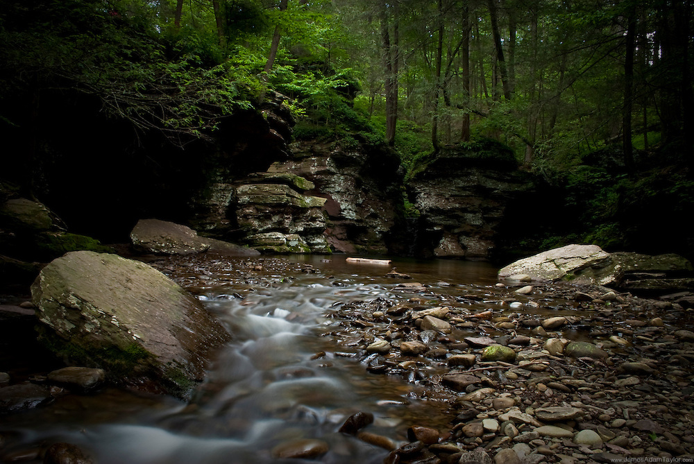 Kitchen creek, Ricketts Glen state park, Luzerne, Sullivan and Columbia counties, PA.
