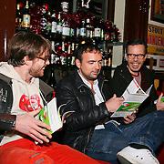 3FM Serious Request 2012 in Enschede van start!, Giel Beelen, Gerard Ekdom en Michiel Veenstra