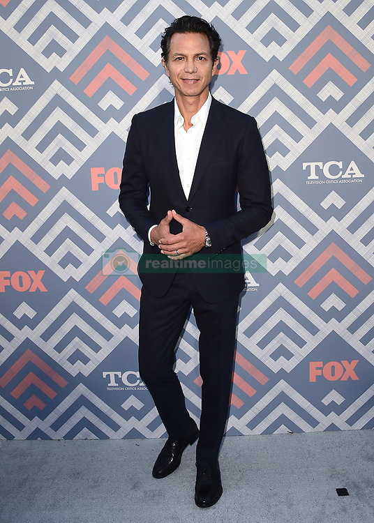 WEST HOLLYWOOD - AUGUST 8:   Benjamin Bratt at the FOX and FX 2017 Summer TCA All-Star party at Soho House on August 8, 2017 in West Hollywood, California. (Photo by Scott Kirkland/FOX/PictureGroup) *** Please Use Credit from Credit Field ***