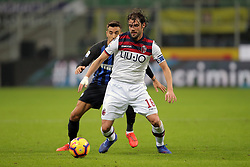 February 3, 2019 - Milan, Milan, Italy - Andrea Poli #16 of Bologna FC in action during the serie A match between FC Internazionale and Bologna FC at Stadio Giuseppe Meazza on February 3, 2019 in Milan, Italy. (Credit Image: © Giuseppe Cottini/NurPhoto via ZUMA Press)
