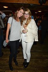 Left to right, DAISY DODD NOBLE and TATIANA HAMBRO  at 'Bodo's Schloss Goes Wild For Lewa' held at Bodo's Schloss, 2A Kensington High St, London W8 on 9th October 2013.