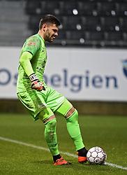 December 23, 2018 - France - Hendrik Van Crombrugge goalkeeper of Eupen (Credit Image: © Panoramic via ZUMA Press)