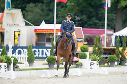 Ostholt Andreas, (GER), Pennsylvania   watching the Dressage<br /> Dressage - CIC3* Luhmuhlen 2016<br /> © Hippo Foto - Jon Stroud<br /> 17/06/16
