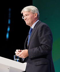 Rt Hon Andrew Mitchell MP during the Conservative Party Conference, United Kingdom, October 2, 2012. Photo by Elliott Franks / i-Images.