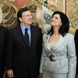 Italy - Rome - 19 May 2009 - European Maritime Day - Barroso - Borg Meeting - José Manuel BARROSO, President of the European Commission - Rodi KRATSA-TSAGAROPOULOU.Vice-President of the European Parliament © EC/CE