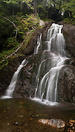 Mossy Glen Falls, in Granville, Vermont, is one of the most beautiful in the state.