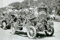 1908 City's Trustees entry in the Hollywood Tilting & Floral Parade