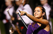 The Solon high school band performs during the Marion Marching Invitational on Saturday, September 26, 2009. The competition was one of three other band contests taking place in the area. The others were held at Linn-Mar and Prairie High. (Crystal LoGiudice/The Gazette).