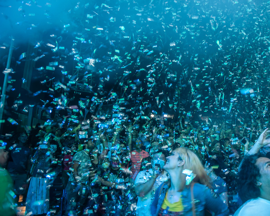 Flaming Lips performing at Pacific Amphitheatre August 26, 2021.