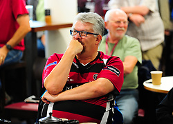 Somerset fans watch the Middlesex vs Yorkshire game.  - Mandatory by-line: Alex Davidson/JMP - 23/09/2016 - CRICKET - Cooper Associates County Ground - Taunton, United Kingdom - Final Day of the Season - Specsavers County Championship Division One