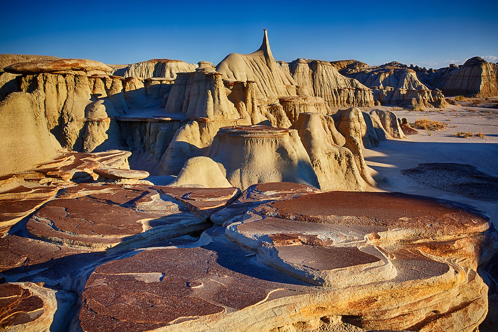 The Ah-shi-sle-pah badlands and wilderness study area in remote New Mexico