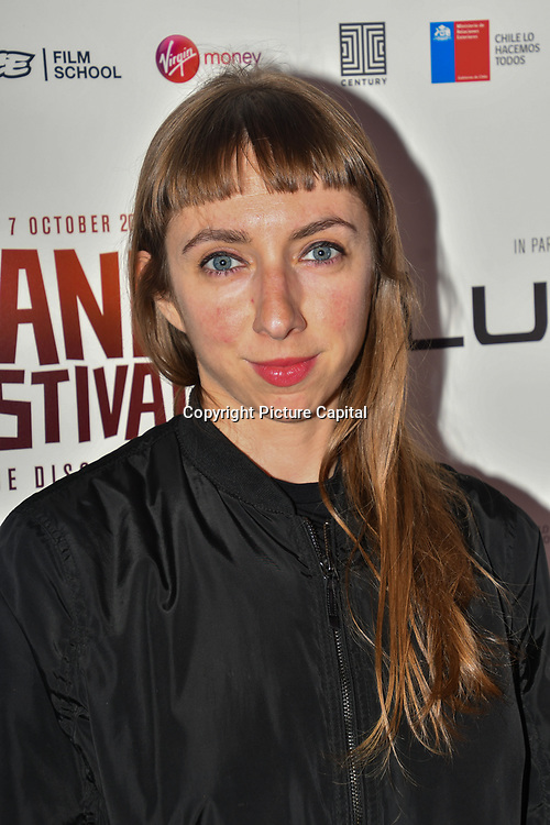 Ana Quiroga soundtrack of LCC in I hate New York attend World Premiere of Team Khan - Raindance Film Festival 2018 at Vue Cinemas - Piccadilly, London, UK. 29 September 2018.