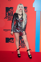 Ava Max attends the MTV EMAs 2019 at FIBES Conference and Exhibition Centre on November 03, 2019 in Seville, Spain. Photo by David Niviere/ABACAPRESS.COM