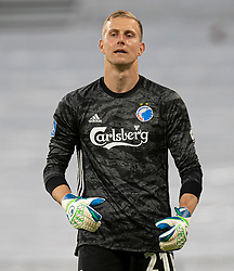 Karl-Johan Johnsson (FC København) under kampen i 3F Superligaen mellem FC København og AaB den 17. juni 2020 i Telia Parken, København (Foto: Claus Birch).