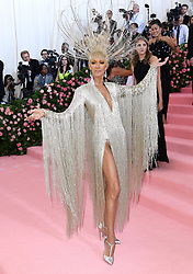 """Celine Dion at the 2019 Costume Institute Benefit Gala celebrating the opening of """"Camp: Notes on Fashion"""".<br />(The Metropolitan Museum of Art, NYC)"""