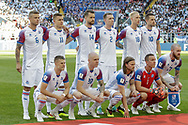 Team of Iceland during the 2018 FIFA World Cup Russia, Group D football match between Argentina and Iceland on June 16, 2018 at Spartak Stadium in Moscow, Russia - Photo Thiago Bernardes / FramePhoto / ProSportsImages / DPPI