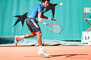 Roland Garros. Paris, France. May 29th 2006. .Srichaphan plays against Blake during the first tour of the tennis french open.